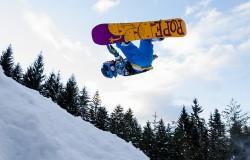 Poczwórny korkociąg na snowboardzie! To jest niesamowite!