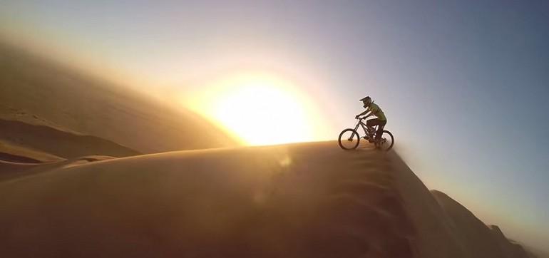 Rowerem po Afryce – extremalne zjazdy.