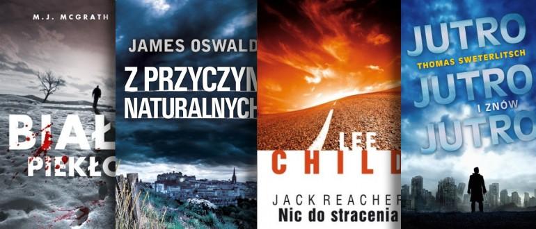 Cztery bestsellery polecane na ten tydzień