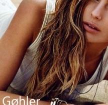 Modelka Mathilde Gøhler