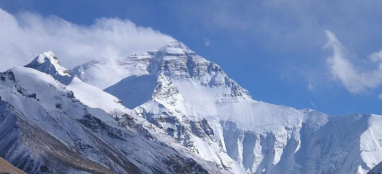 Mount Everest – trzęsienie ziemi.