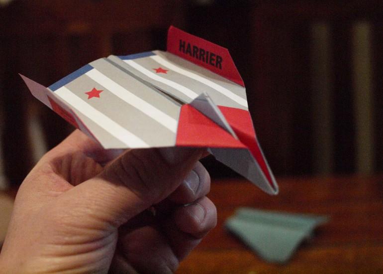 Mistrzostwa Świata Papierowych Samolotów - Paper Wings Red Bull 2015