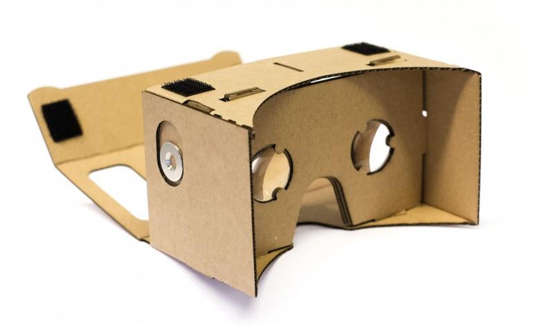 Google Cardboard – wirtualny świat 3D za 20$