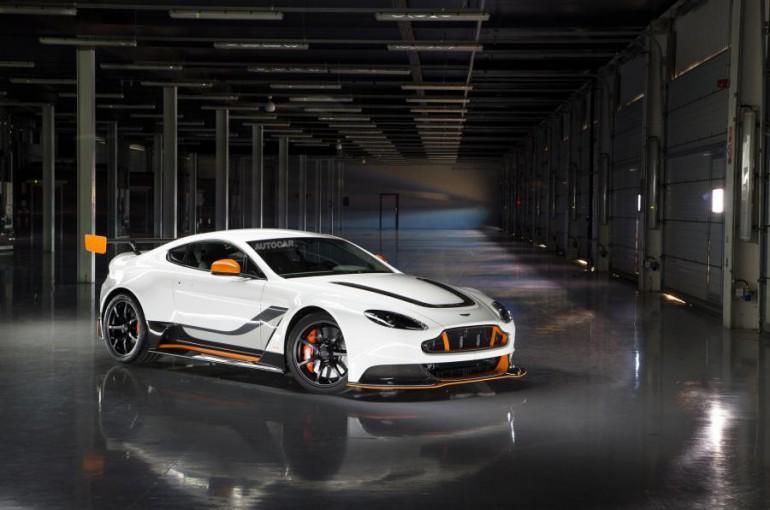 Aston Martin Vantage GT12 debiut w Goodwood