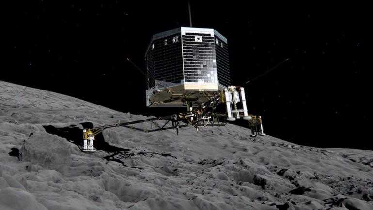 Lądownik Philae ożył i skontaktował się z Ziemią