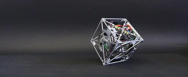 Robot Cube niewiarygodny koncept inżynieryjski