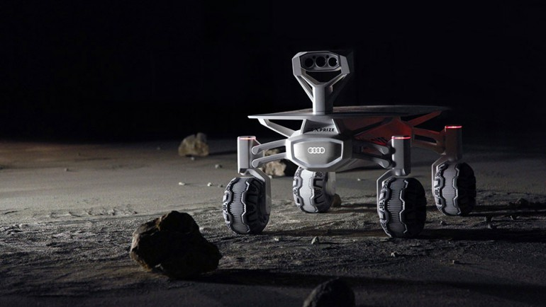 Audi pomoże w budowie łazika księżycowego do projektu Google Xprize