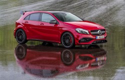 Mercedes Klasa A i nowy design. AMG A45 381 KM