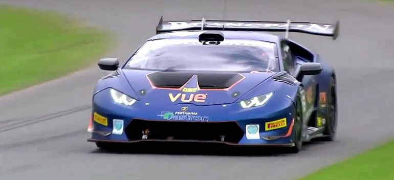 Wypadek Lamborghini na Goodwood Festival of Speed