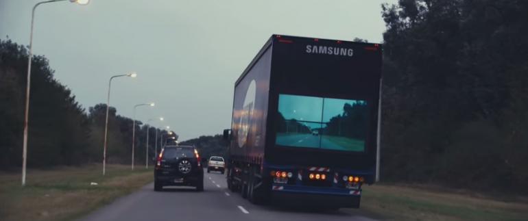Samsung i najnowszy pomysł drogowy.