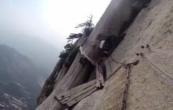 Hu Shan – ekstremalna trasa – i najniebezpieczniejsza wycieczka świata
