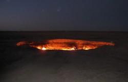 Brama do piekła w Turkmenistanie
