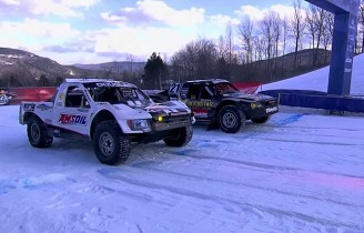 Red Bull Frozen Rush – zimowe wyścigi ciężarówek.