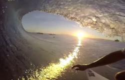 CJ Hobgood z GoPro na Fiji