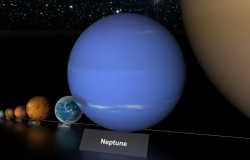 Rozmiar planet i gwiazd w kosmosie