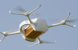 Szwajcarska poczta testuje drony do dostarczanie przesyłek w nagłych wypadkach