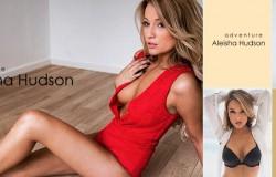 Modelka Aleisha Hudson