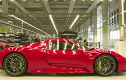 Linia produkcyjna Porsche 918.