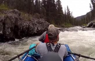 Ekstremalne spływy rzeką Salomon w Idaho