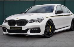 Manhart Performance przygotuje bardziej agresywną wersje nowego BMW serii 7