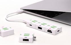 Sam możesz zbudować hub USB-C z cegiełek