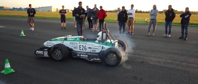 Elektryczny samochód Formuły ustanowił nowy rekord 0-100km/h w zaledwie 1,779 sekundy