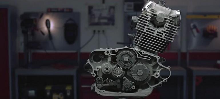 Jak wygląda silnik motocykla milimetr po milimetrze.