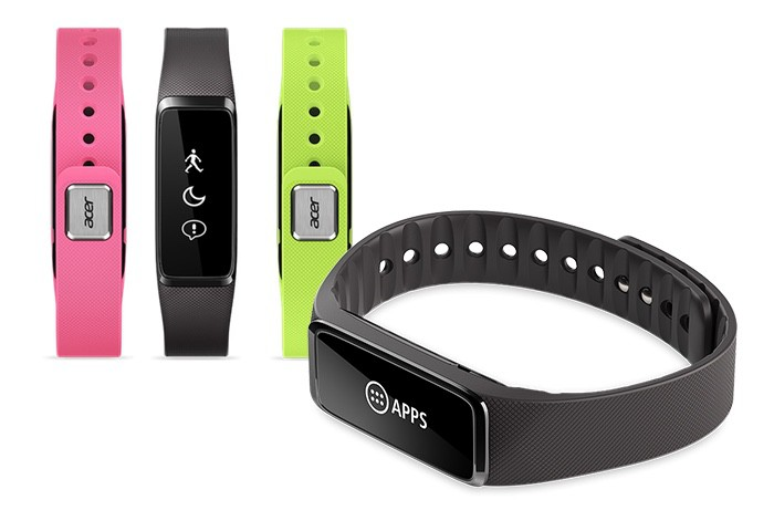 Acer Liquid Leap + fitness tracker