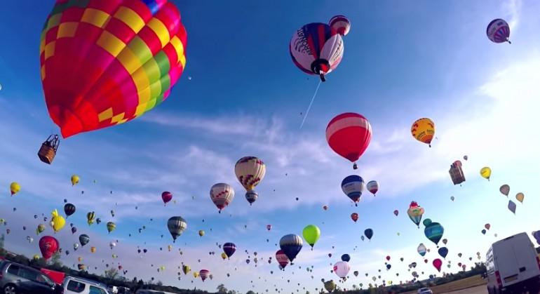 Rekord Świata w ilości balonów na ogrzane powietrze