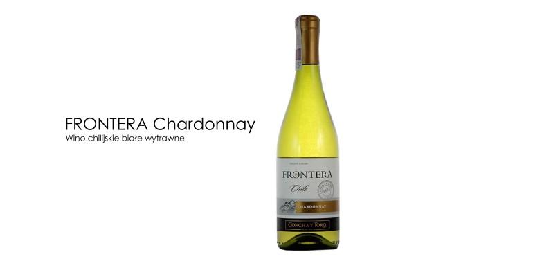 Białe wino idealne na upalne dni. Frontera