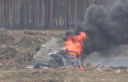 Katastrofa Mi-28 podczas pokazów w Rosji