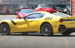 Nowe Ferrari F12 GTO pierwsze zdjęcie po modyfikacji.