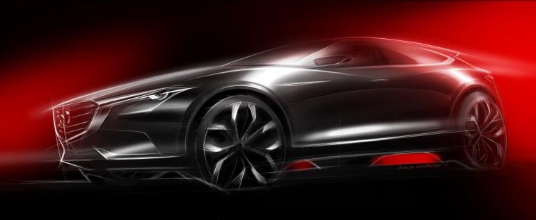 Mazda Koeru nowy model SUV zadebiutuje w Frankfurcie