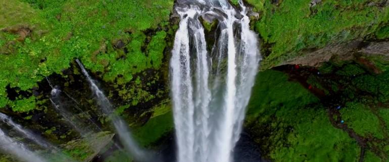 Islandia - przepiękny film nakręcony z drona