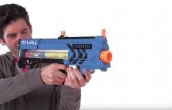 Pistolet Rival Zeus strzela kulkami z prędkością 110 km/h