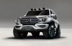 Mercedes G-klasa czy następca będzie wyglądał właśnie tak?
