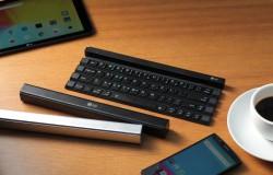 Przenośnia klawiatura rolowana – tak – ciekawe i praktyczne rozwiązanie.