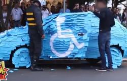 Co może się stać jak zaparkujesz na miejscu dla inwalidów?