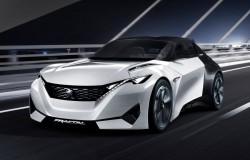 Peugeot Fractal ciekawa futurystyczna koncepcja miejskiego auta