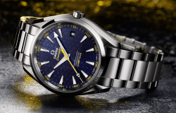 James Bond 007 Spectre limitowana seria zegarka Omega Seamaster Aqua Terra > 15007 Gauss