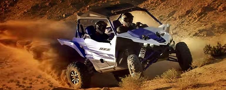 Yamaha YXZ1000R tym wjedziesz wszędzie.