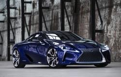 Lexus LF-LC coupe prawdopodobnie tak będzie wyglądał.
