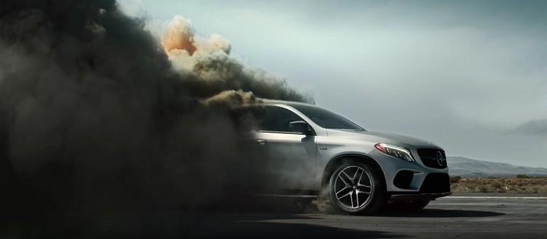 Mercedes GLE Coupe drapieżny a zarazem komfortowy SUV
