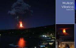 Erupcja wulkanu Villarica w Chile. Fantastyczne zdjęcia.