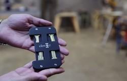 Clover bezpieczny portfel na karty i klucze