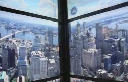 Nowe World Trade Centre i winda z podróżą w czasie.