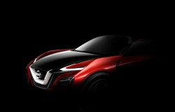 Nissan Teases Crossover koncepcja auta które zobaczymy na targach we Frankfurcie