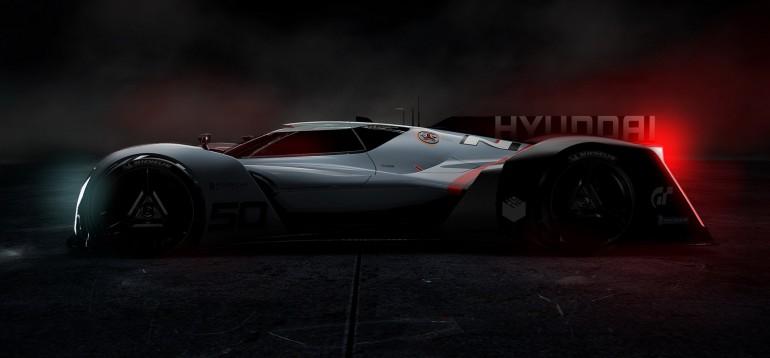Hyundai N 2025 Vision Gran Turismo futurystyczne auto