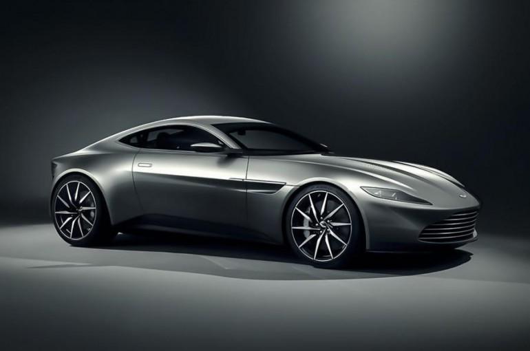 Aston Martin DB10 dla Jamesa Bonda w filmie Spectre