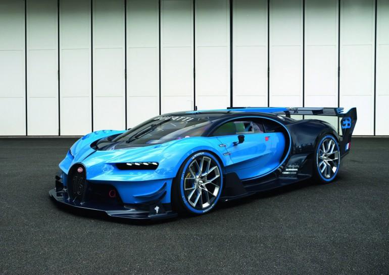 Bugatti Vision Gran Turismo  wyznacza nową erę i linię samochodów Bugatti